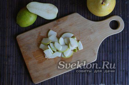 Груши и лимоны для варенья