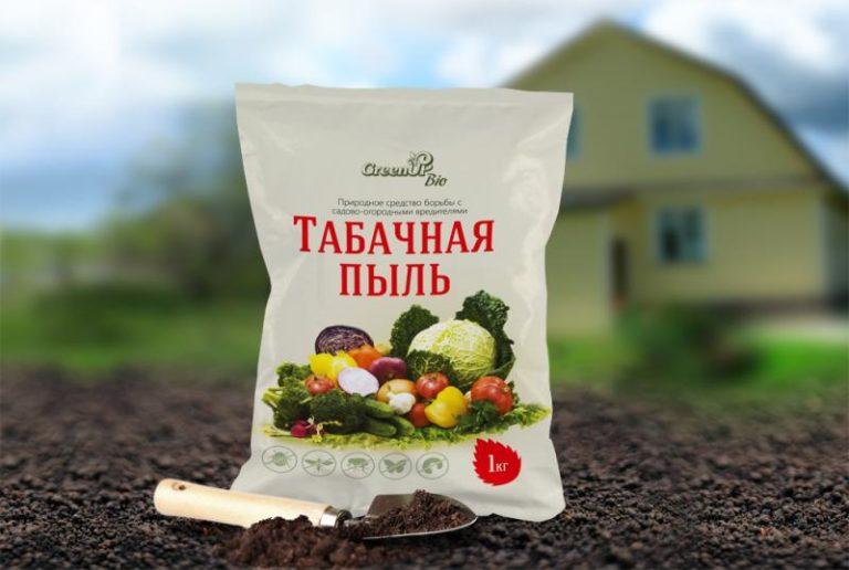 обработка капусты табаком