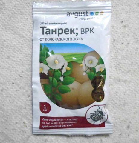 Танрек от колорадского жука: описание, свойства, инструкция, отзывы