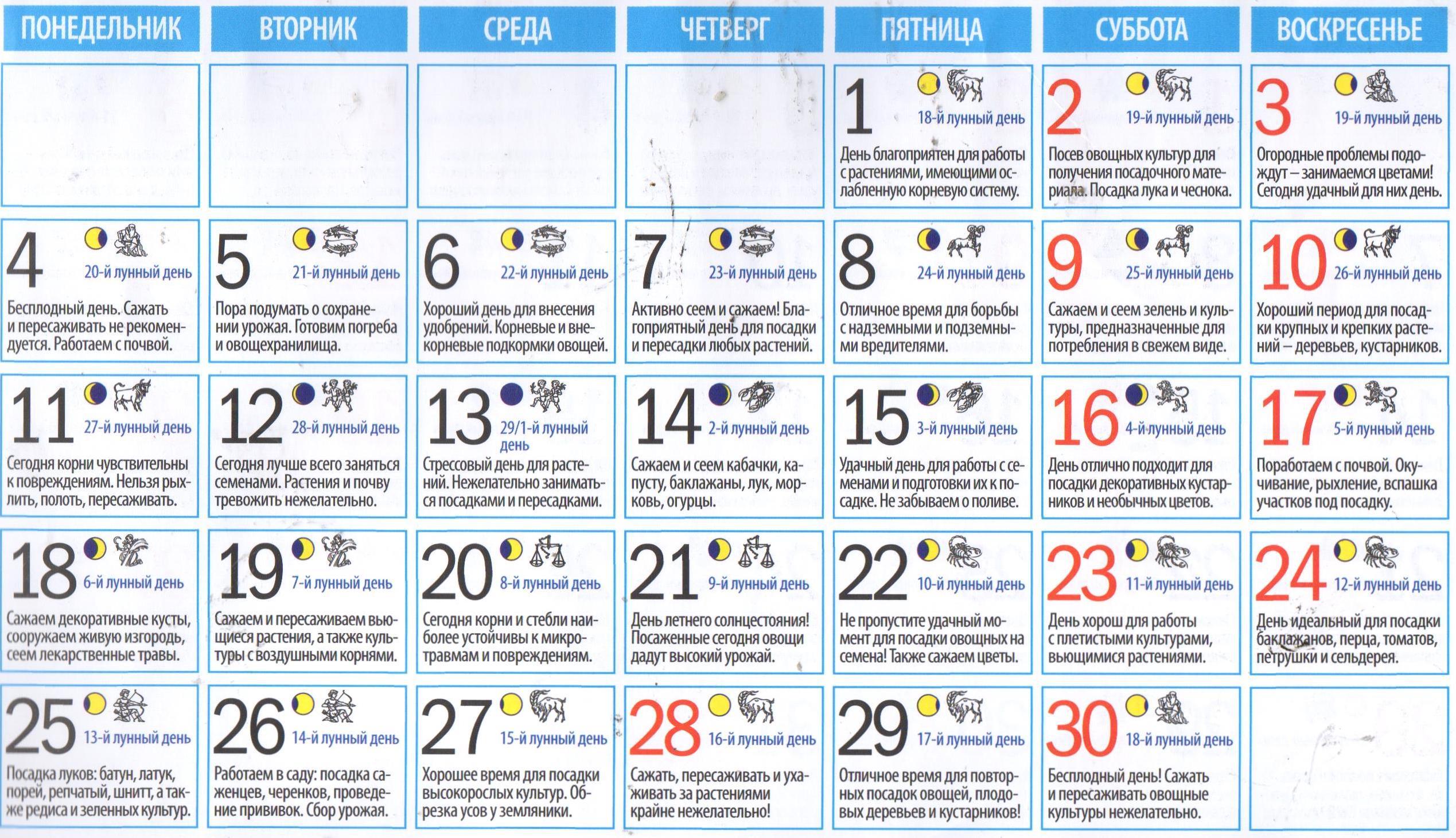 Удачное Знакомство По Лунному Календарю