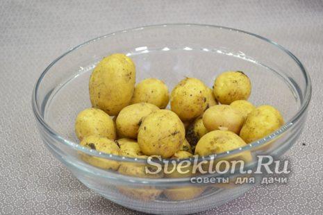 картофель подготовить