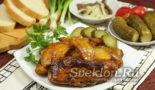 картофель с курицей