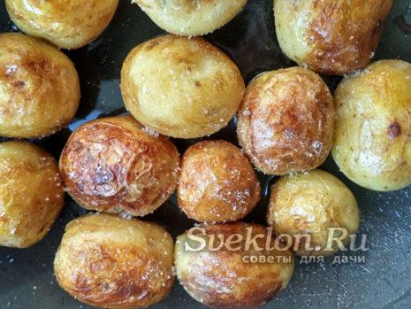 подсолить картофель