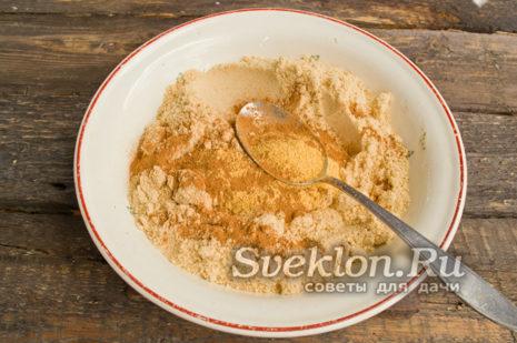 размять печенье