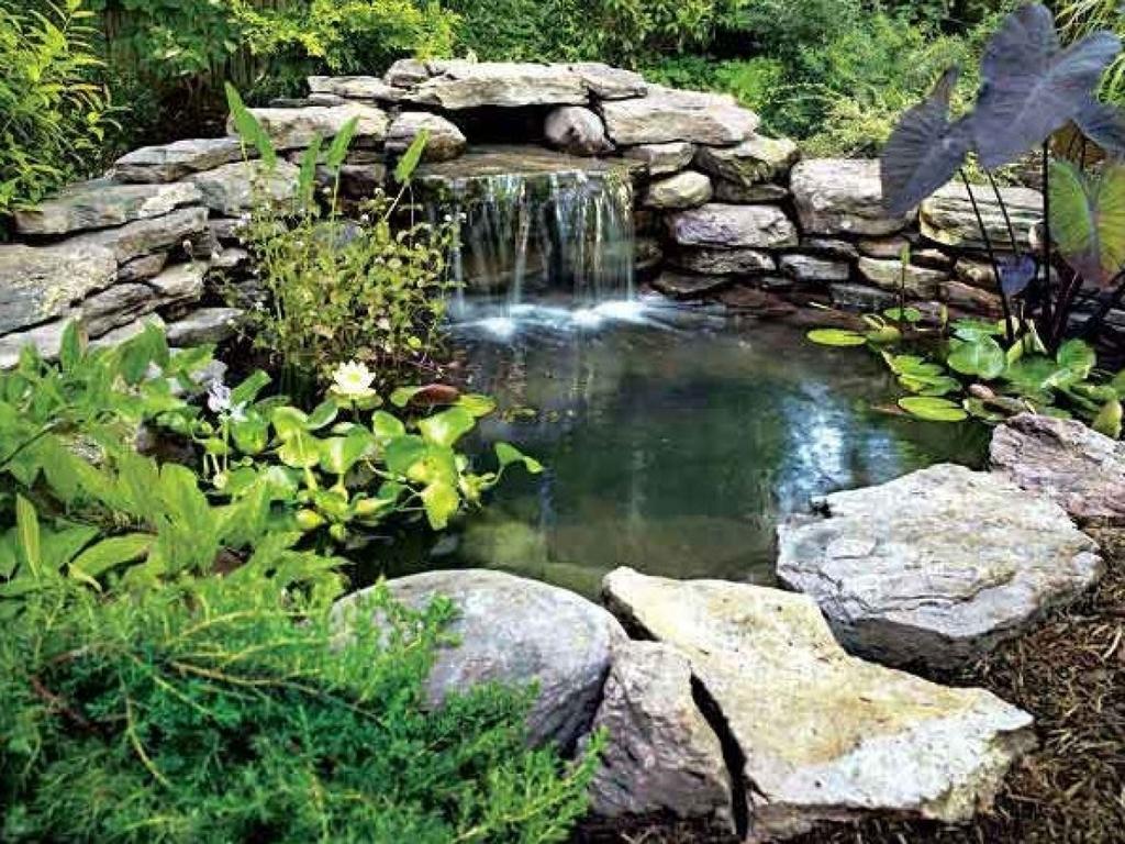 Водопад озерко
