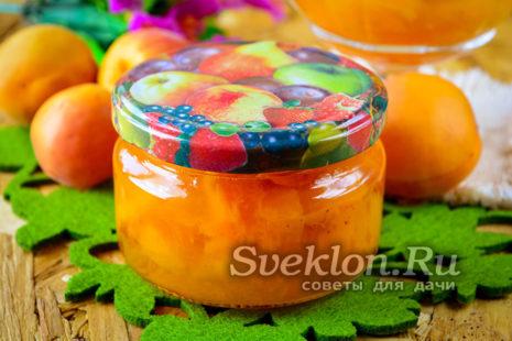 Варенье из абрикос без косточек