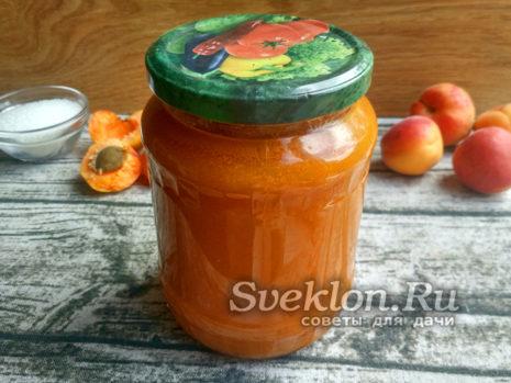 абрикосовый сок готов