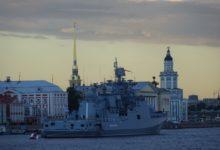 Празднование дня ВМФ а Питере