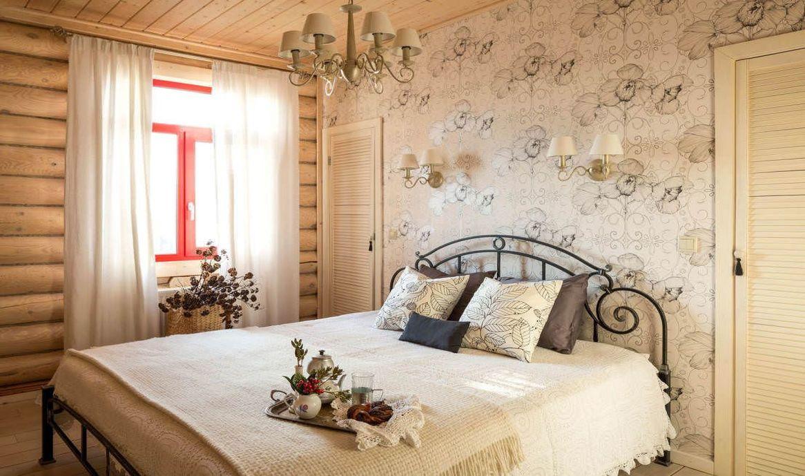 Кантри спальня