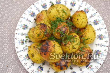 картофель готов