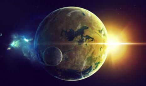 Солнце, земля и луна