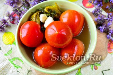 квашеные помидоры готовы