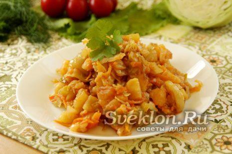 Вкусное рагу с овощами