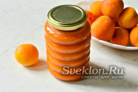 готовое варенье из абрикосов