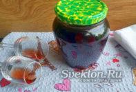 варенье из вишни с ликером