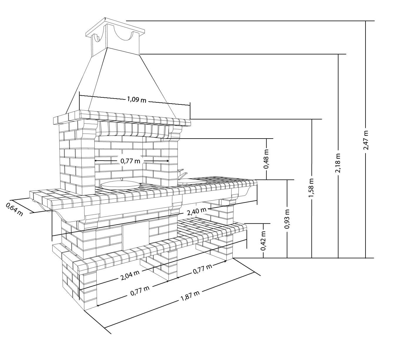 считается схема и чертежи постройки барбекюшницы фото если добровольно