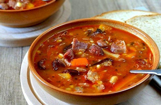 венгерский фасолевый суп