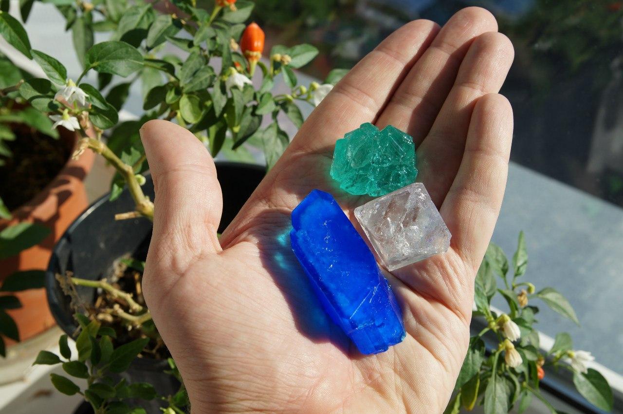 кристаллы купороса