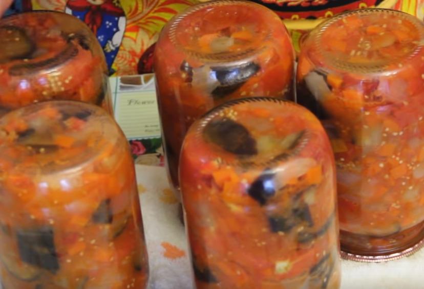 Баклажаны на зиму: лучшие рецепты с фото, без стерилизации (пошагово)