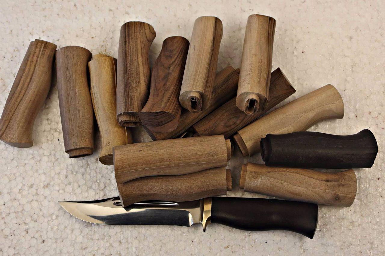 Рукоятки для ножа