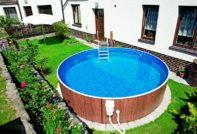 Бассейн для дачи: обустройство бассейна, идеи оформления с фото