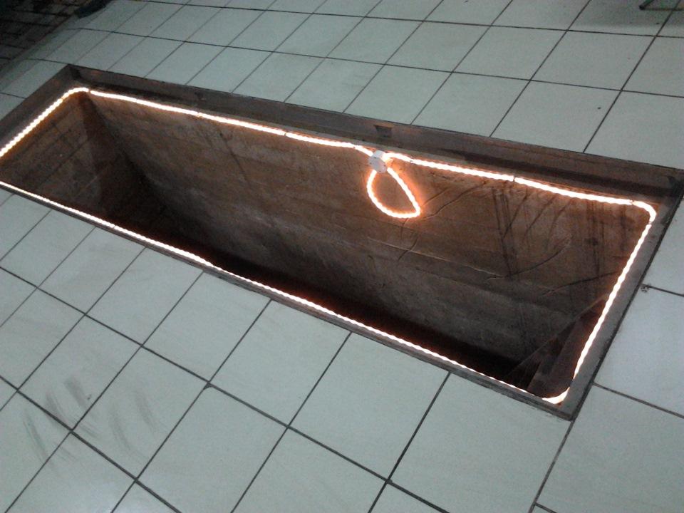подсветка для смотровой ямы