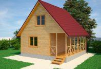 Проект дома 6 на 6