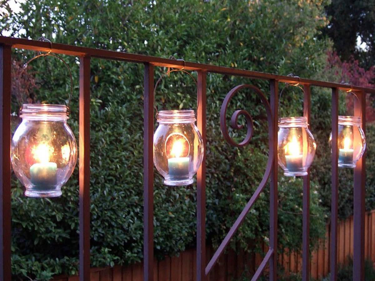 как сделать садовые светильники своими руками фото меня, если
