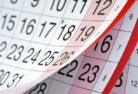 График праздничных и выходных дней